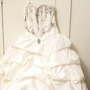 MoriLee by Madeline gardens size 10 wedding dress